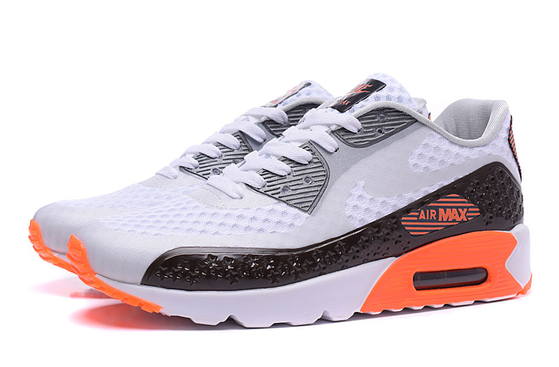 new product ec87d 543f1 Nike Air Max 90 Homme Chaussures Bleu Brun 1030