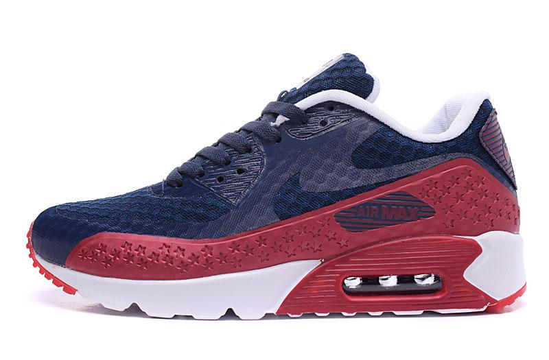 nike air max 90 homme chaussures bleu brun 1030