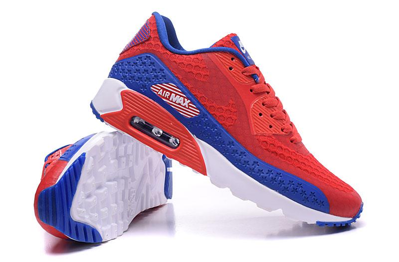 nike air max 90 homme chaussures bleu brun 1036