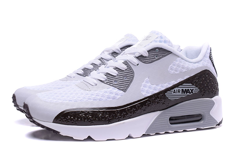 nike air max 90 homme chaussures gris noir 1038