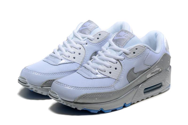 sports shoes 29e58 49ed0 Nike Air Max 90 Femme Chaussures Blanc 2005