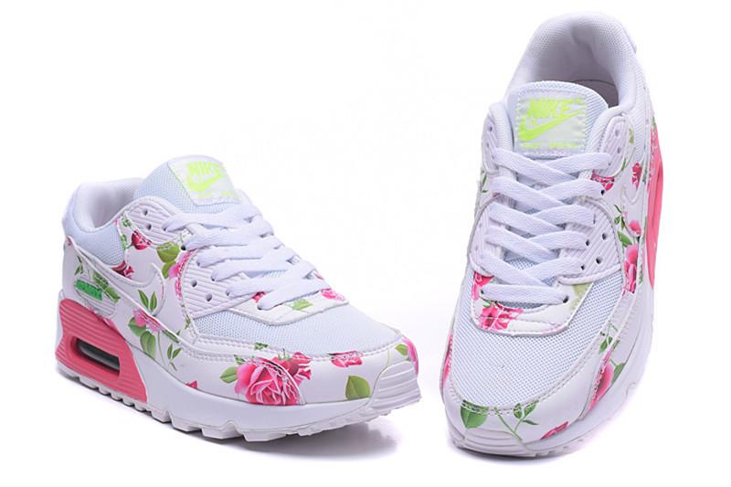 buy online 82155 94e89 nike roshe run femme fleur rose nike rose fleur. Nike Air Max 90 Chaussures  ...