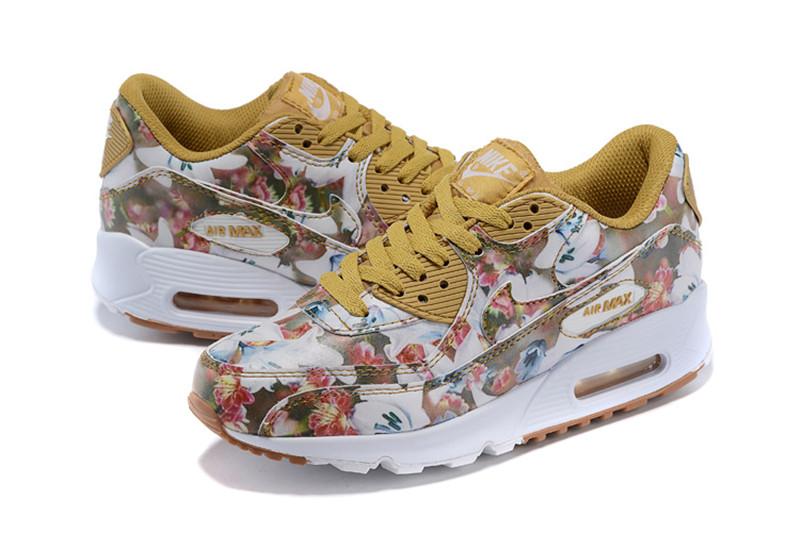 innovative design edf2b 3e77f Chaussures Air Femmes 90 Blanc 09 Jaune Fleur Nike Max N20150705 ZUxRwtqfZH