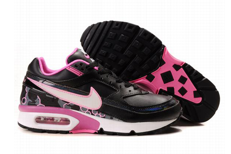 online store 9d1c0 217a8 Nike Air Max Classic BW Chaussures Femme Noir   Blanc   Rose
