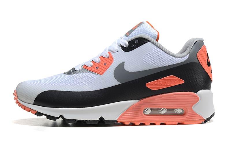 80de2ff7306 low price nike air max 90 femme chaussures orange noir 5006 09f59 1450c