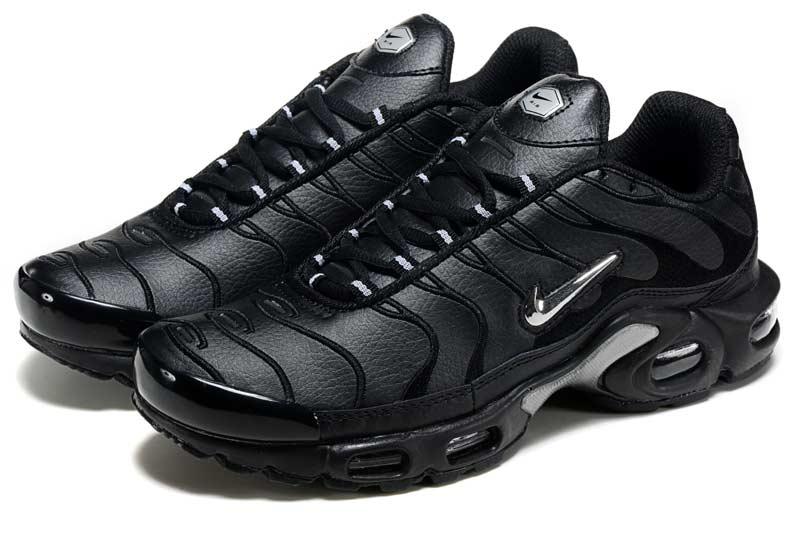 low priced 2455a 4a120 Nike Air Max TN Femme Chaussures Noir Gris 1001