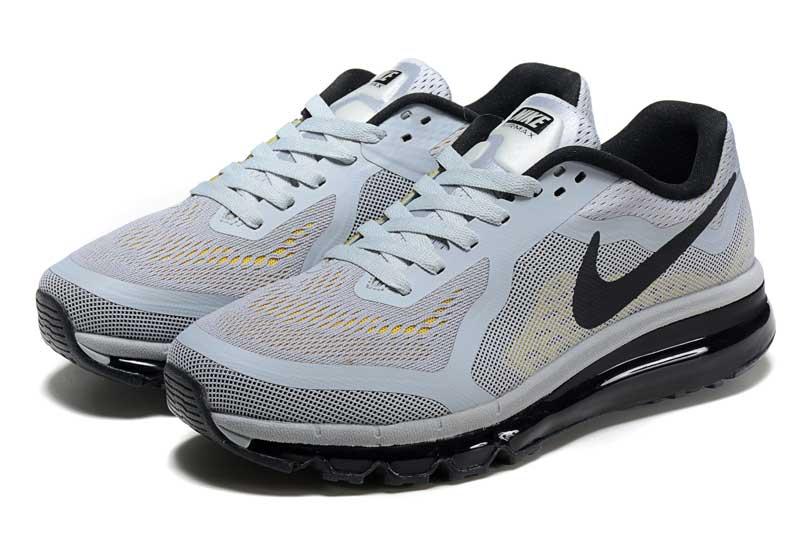 2c237c24b8e4 Nike Air Max 2014 Homme Chaussures Gris Noir 1019 [N_AM2014_586016 ...