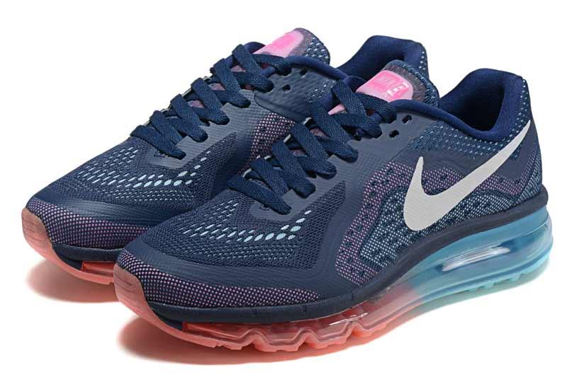 meet 9b375 f6e9a Nike Air Max 2014 Femme Chaussures Pourpre Gris 2042