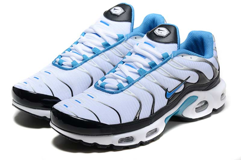 best sneakers d27eb a40d1 Nike Air Max TN Homme Chaussures Bleu Blanc 2022