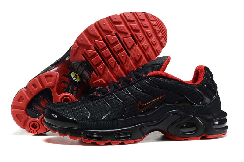 Nike Air Max TN Homme Chaussures Noir Rouge 2008