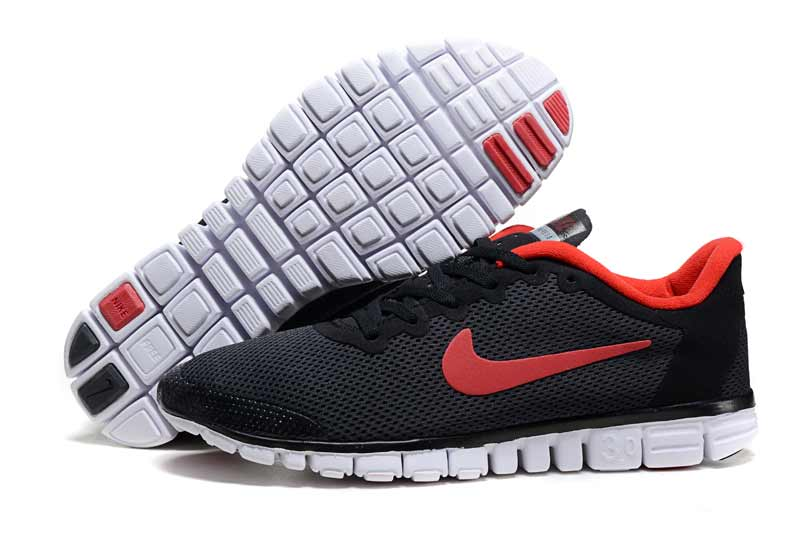 new styles eba16 bc650 Nike Free 3.0 V2 Homme Chaussures Noir Rouge 2017