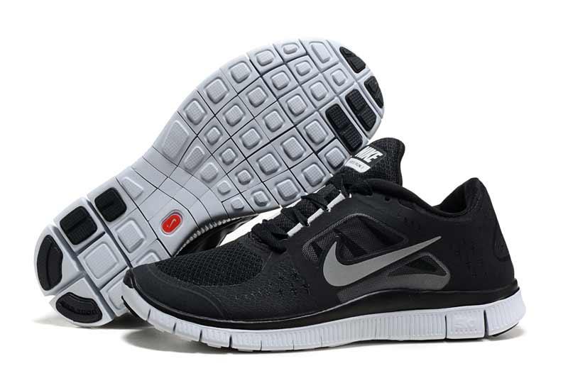 nike free 5 0 v3 homme chaussures noir gris 2011 n f50v3. Black Bedroom Furniture Sets. Home Design Ideas