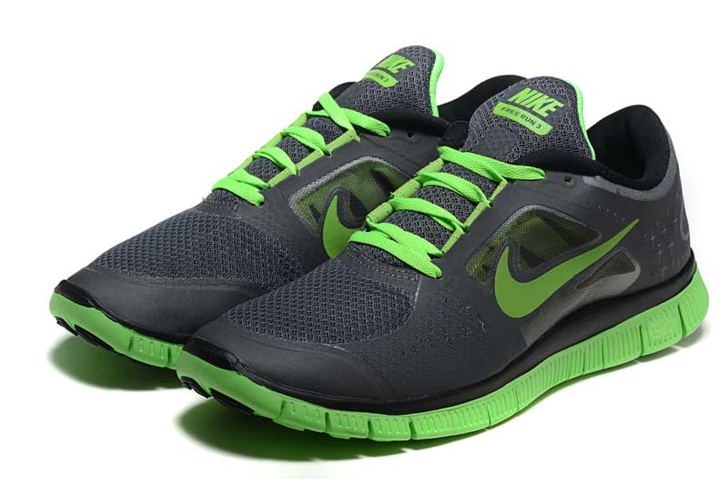 reputable site a8c30 0b2a2 Nike Free 5.0 V3 Homme Chaussures Vert Noir 2008