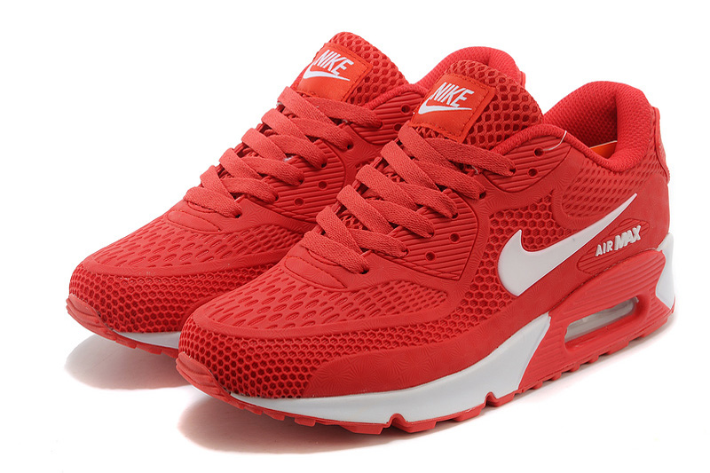 Importation de air max basket,nike air max 90 rouge Scarlet